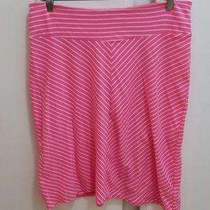 Columbia skirt, striped, PFG Omni-Wick EUC